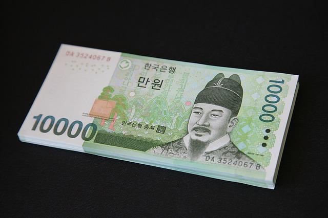 1 Korean Won (KRW) bằng bao nhiêu Dollar Mỹ