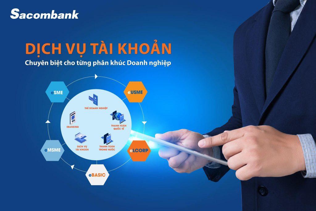 Sản phẩm tài chính của ngân hàng Sacombank dành cho khách hàng doanh nghiệp