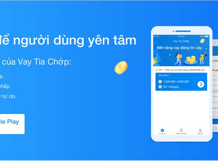 cách vay tiền online qua app vay tia chớp apk