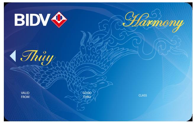 Biểu phí thường niên - phí quản lý thẻ ATM của BIDV